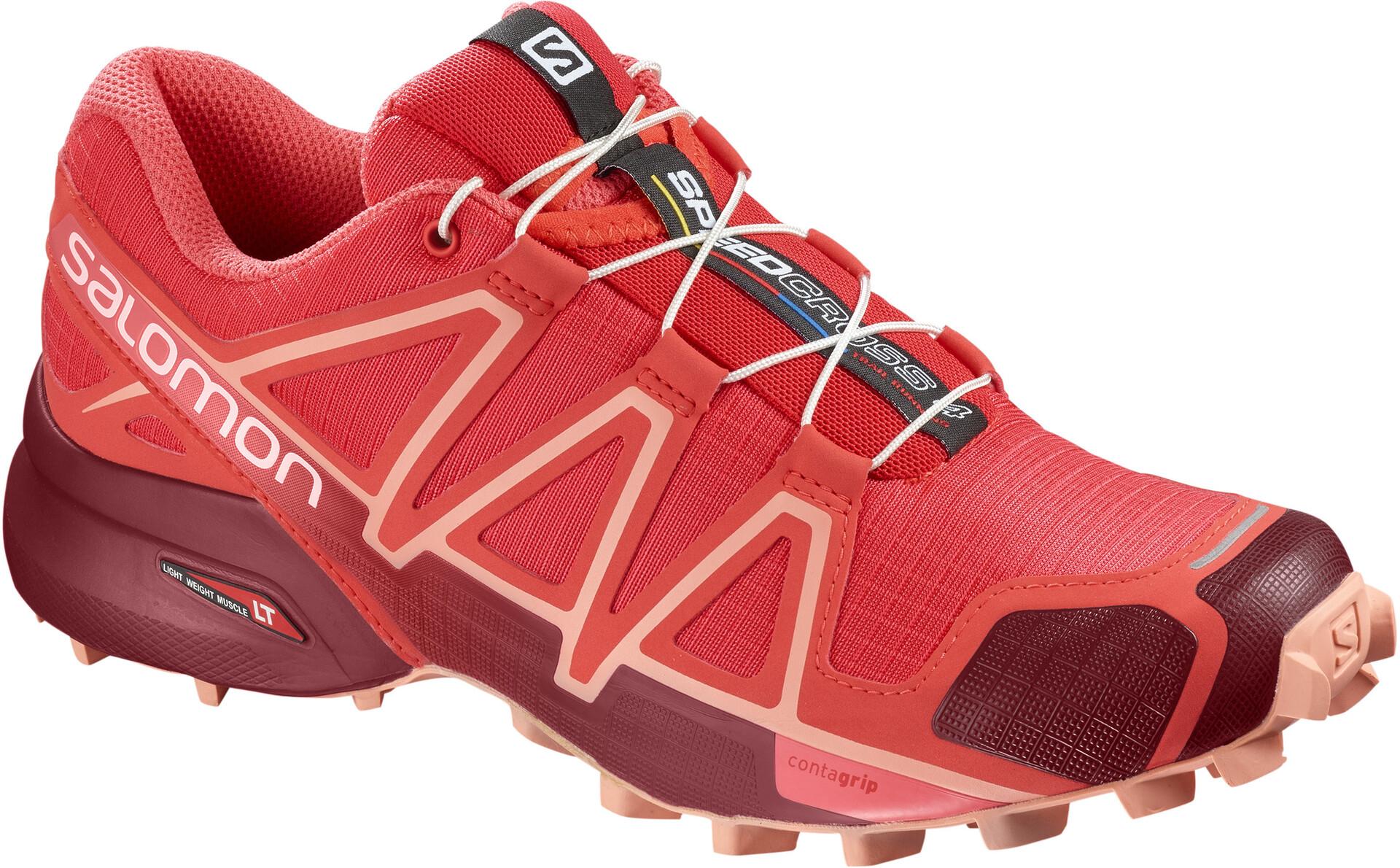 Campz Speedcross Salomon 4 Femme Chaussures Running Rouge Sur CpwPgTqnxw